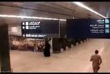 من داخل قاعات مطار أبها السعودي