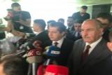 مسرور بارزاني خلال مؤتمره الصحافي في السليمانية