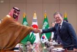 ولي العهد السعودي ورئيس كوريا الشمالية