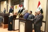 وزراء الدفاع والداخلية والعدل الجدد في العراق يؤدون اليمين الدستورية