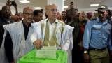 الفائز بالانتخابات الرئاسية في موريتانيا يشيد بـ