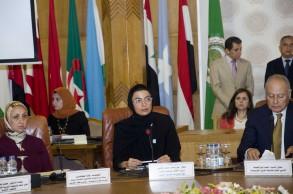 وزيرة الثقافة الاماراتية في افتتاح المؤتمر الاقليمي الأول للخريطة الرقمية للمكتبات ومراكز المعلومات العربية
