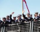 جنود من البحرية البريطانية التي تمثل قوة المملكة الضاربة (صورة من موقع البحرية الملكية البريطانية)