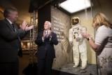 احتفالات الذكرى الخمسين لمهمة أبولو 11 بدأت بعودة مايكل كولينز إلى منصة الإطلاق