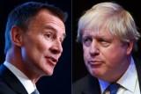 صورة مركبة للمرشحين لرئاسة الوزراء البريطانية جيريمي هانت وبوريس جونسون