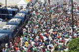جانب من تظاهرات الجزائر العاصمة الجمعة الماضي