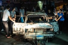 جثث ضحايا حادث تصادم القاهرة تطايرت وسقطت في النيل