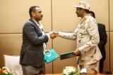 نائب رئيس المجلس العسكري محمد حمدان دقلو وأحد أبرز قادة