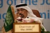 وزير الطاقة السعودي خالد الفالح خلال اجتماع أوبك في جدة