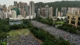 أكثر من 100 ألف شخص يتظاهرون في هونغ كونغ