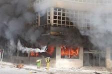 منتفضو العراق لمحتجي إيران: مشكلتنا مع نظامكم لا معكم