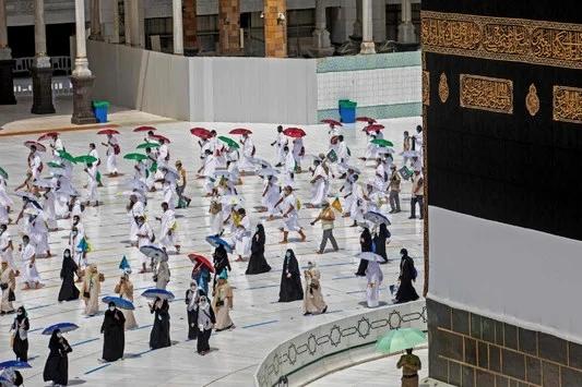 السعودية نيوز |  السعودية تجند التكنولوجيا لسلامة الحجاج