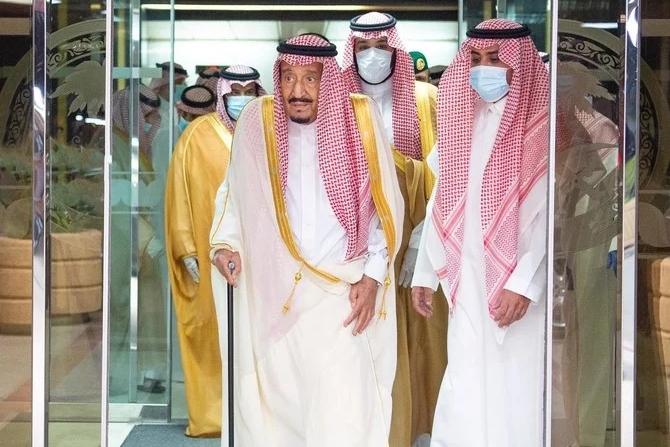 السعودية نيوز |  خادم الحرمين يغادر المستشفى بعد تماثله للشفاء