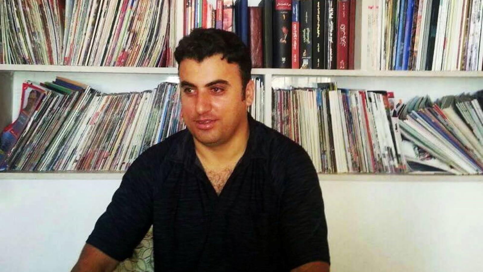 الصحافي الكردي المختطف شيروان شيرواني