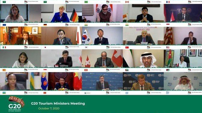 السعودية نيوز |  وزراء سياحة G20 يتفقون على استنهاض السياحة العالمية