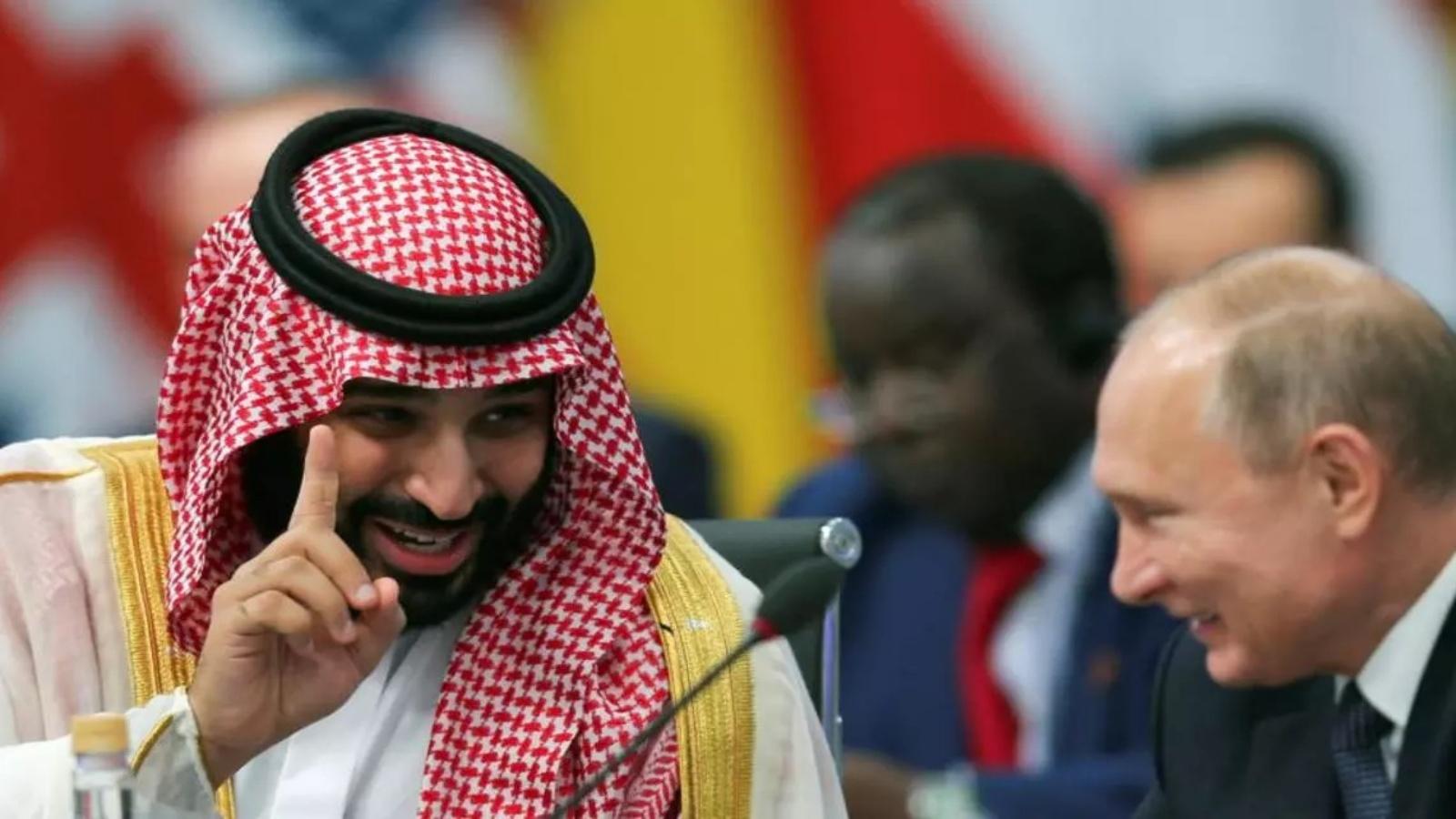 السعودية نيوز |  بوتين يحادث الأمير محمد بن سلمان