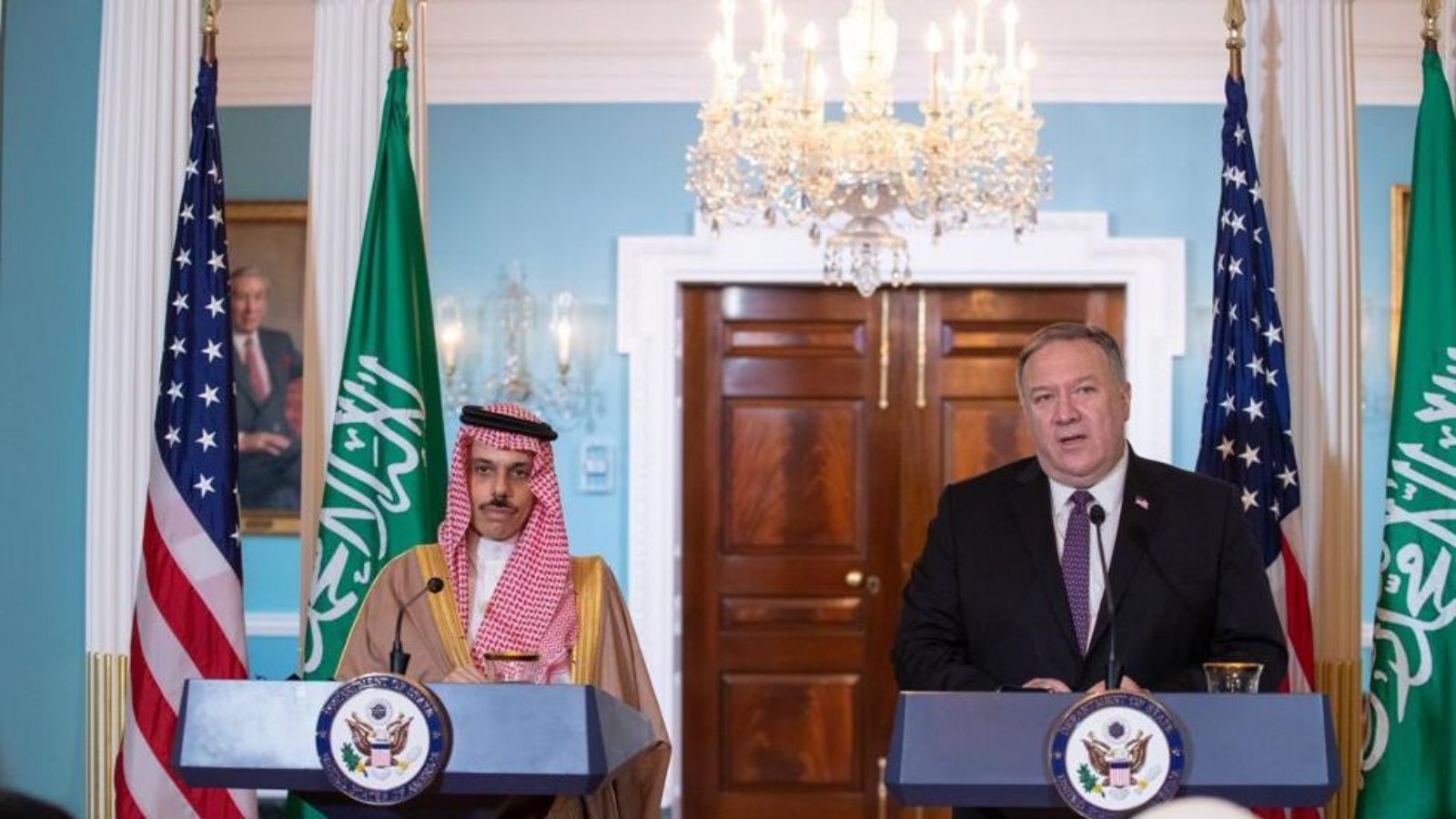 السعودية نيوز |  بومبيو: إيران تهدد المنطقة وأمن السعودية