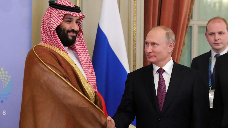 السعودية نيوز |  اتصال هاتفي بين ولي العهد السعودي والرئيس بوتين