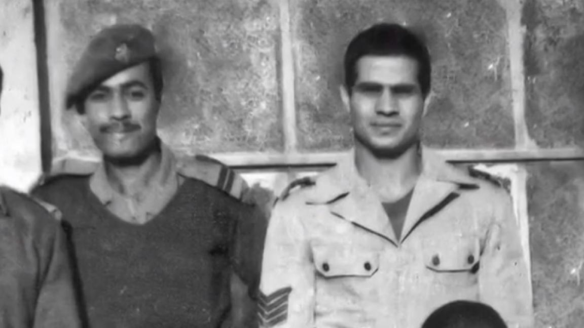 صورة نادرة للرئيس المصري عبد الفتاح السسي أيام كان في الجيش