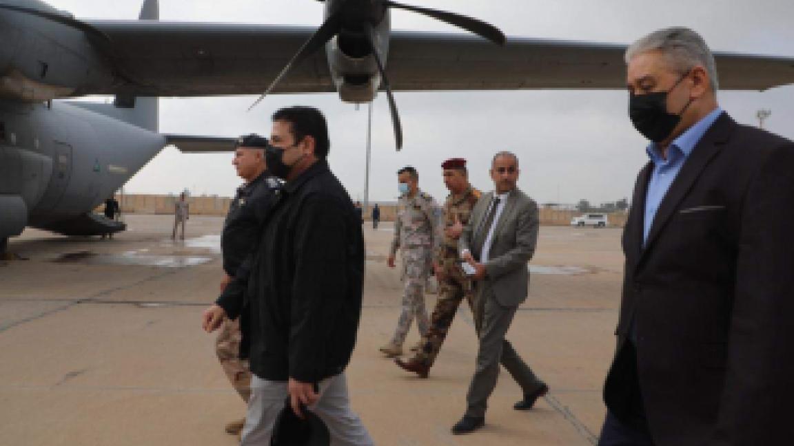 فريق الطوارئ لدى توجهه اليوم الى محافظة ذي قار الصورة من شبكة اخبار الناصرية