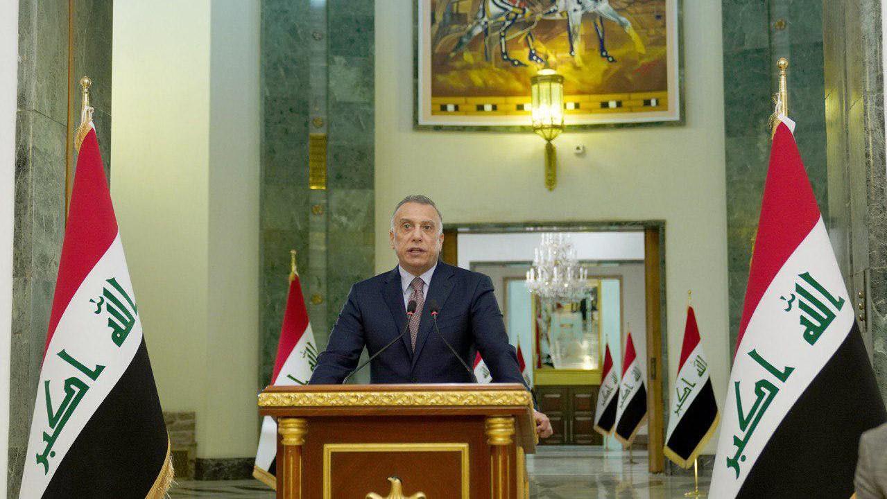 الكاظمي متحدثًا الى العراقيين مساء الثلاثاء عشية الاحتفال بالذكرى المئوية لتأسيس الجيش العراقي
