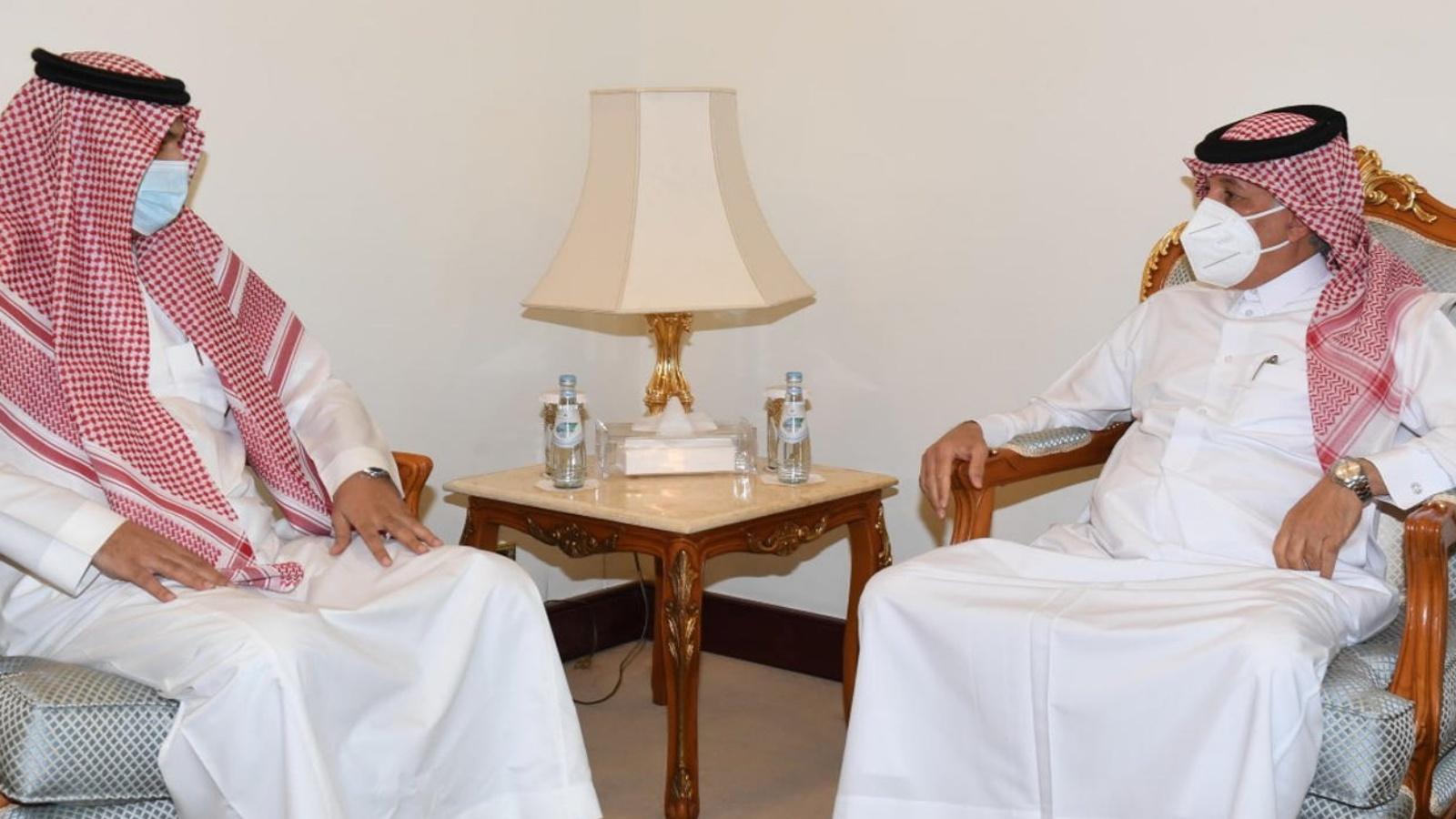 السعودية نيوز |  وزير قطري يلتقي القائم بالأعمال في سفارة السعودية
