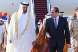 السيسي لمحمد بن زايد: أمن الخليج جزء لا يتجزأ من أمن مصر القومي
