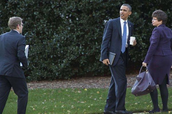 تنقلات متواترة مع باراك أوباما