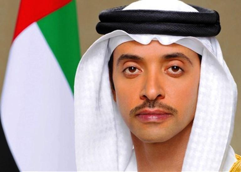 مستشار الأمن الوطني نائب رئيس المجلس التنفيذي الشيخ هزاع بن زايد آل نهيان