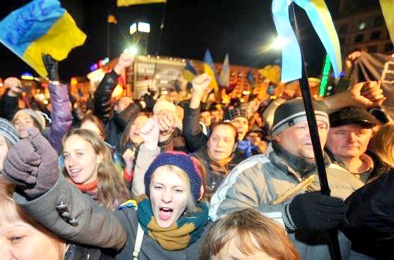 التظاهرات في أوكرانيا مستمرة