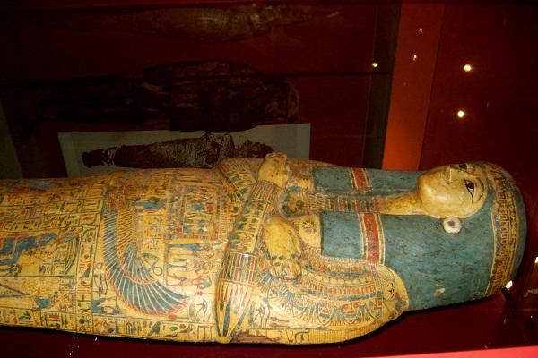 تابوت فرعوني في متحف ميونيخ