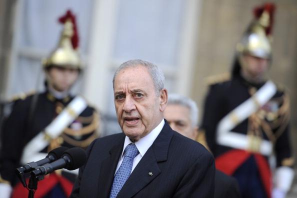 رئيس المجلس النيابي اللبناني نبيه بري