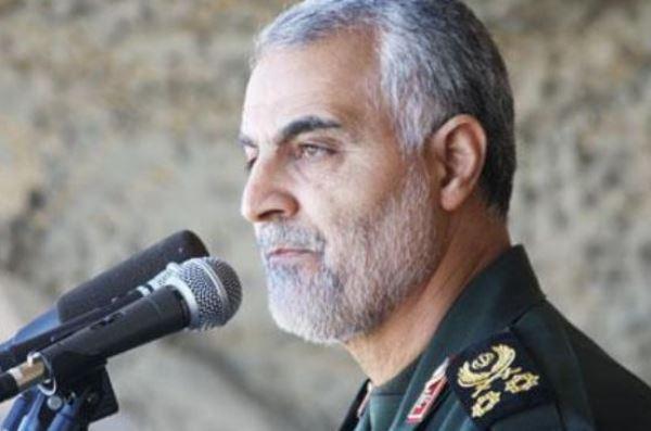 قائد فيلق القدس في الحرس الثوري قاسم سليماني