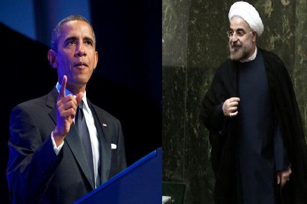 صورة مركبة للرئيسين الأميركي والإيراني
