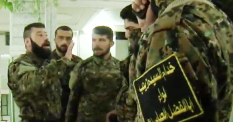 قياديون في لواء ابو الفضل العباس الأشهر في سوريا