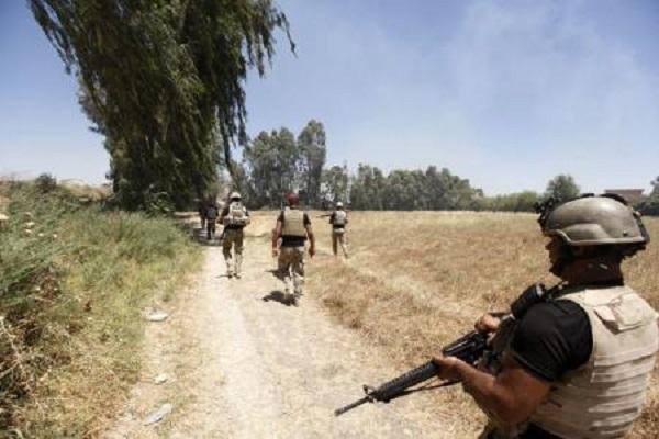 قوات عراقية خلال عمليات عسكرية في محافظة صلاح الدين