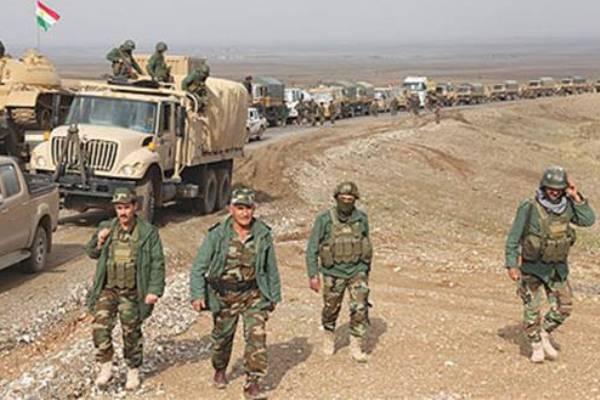 قوات من البيشمركة الكردية العراقية