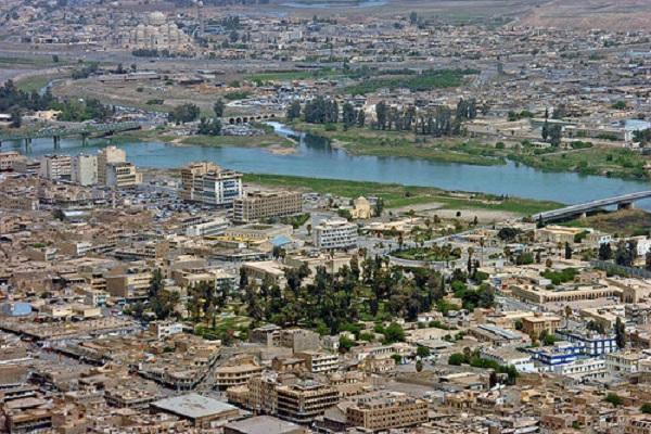 الموصل جانب من المدينة العراقية الشمالية