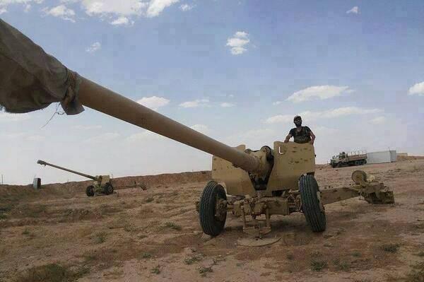 مدفعية بعيدة المدى سيطر عليها مقاتلو داعش في الموصل