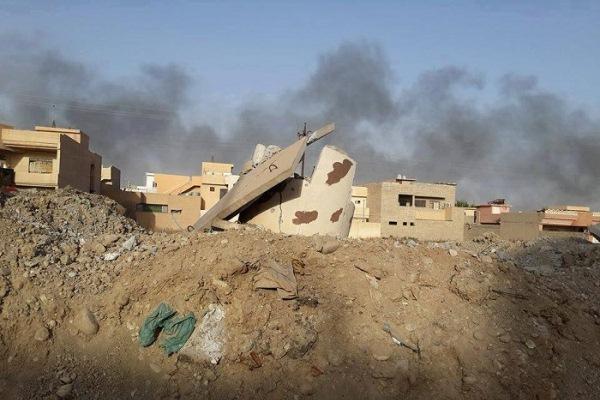 دخان المعارك يتصاعد في سماء الموصل