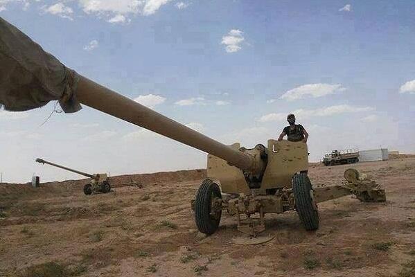 الموصل مدفعية بعيدة المدى سيطر عليها مقاتلو داعش