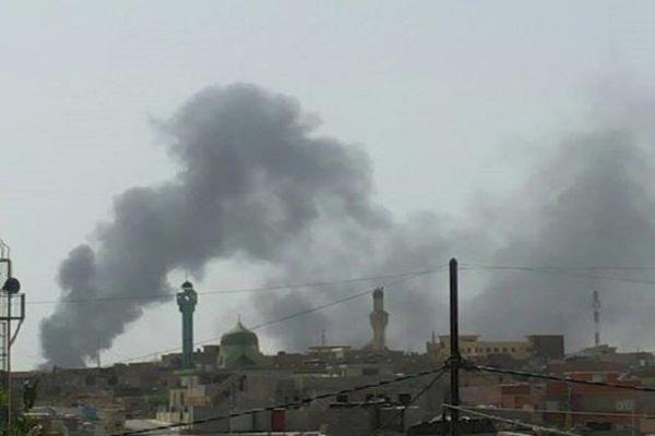 دخان المعارك في سماء الموصل