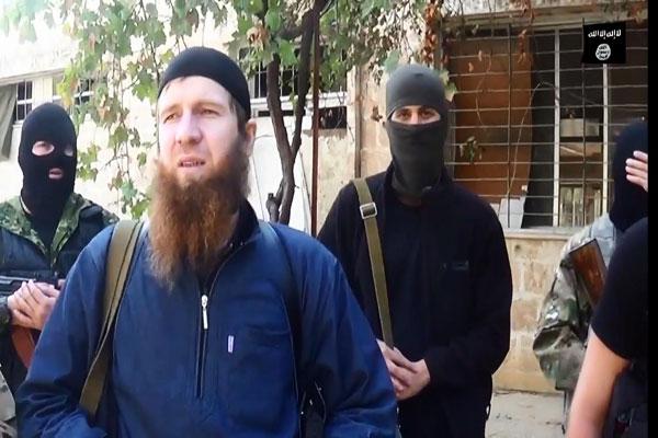 القائد العسكري في (داعش) أبو عمر الشيشاني