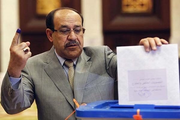 المالكي يدلي بصوته في الانتخابات