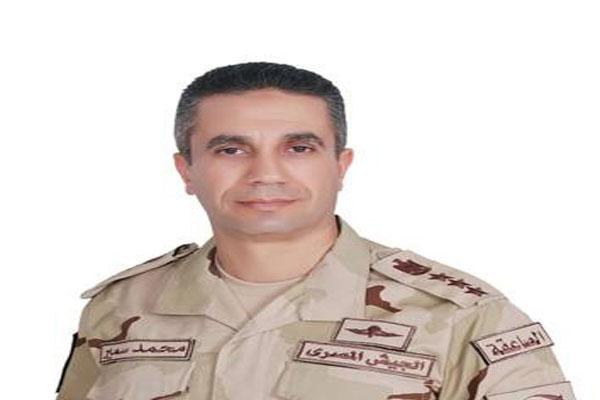 العقيد محمد سمير المتحدث باسم الجيش المصري