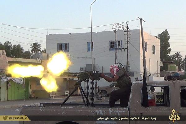 احد مقاتلي داعش في ناحية دلي عباس بمحافظة ديالى