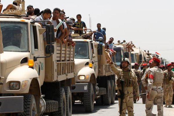 متطوعون عراقيون لمواجهة تقدم داعش