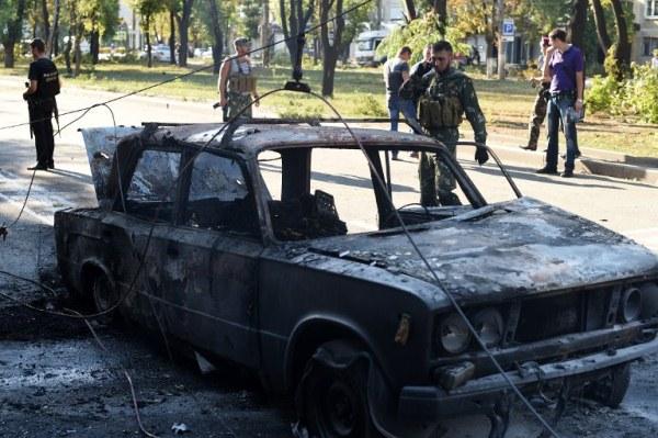 انفصاليون موالون لروسيا في دونتيسك
