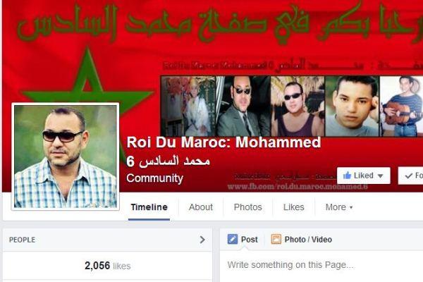 سيلفي الملك محمد السادس تشد مستخدمي فايسبوك بالملايين