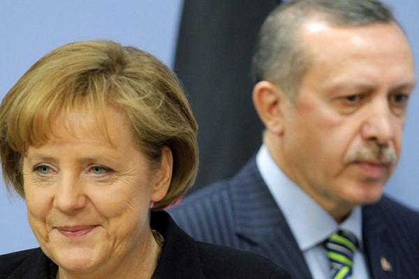 المستشارة تحبط طموحات اردوغان